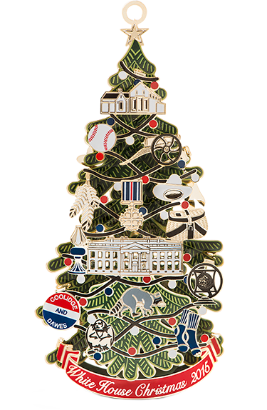 - 2015 White House Historical Association Christmas Ornament